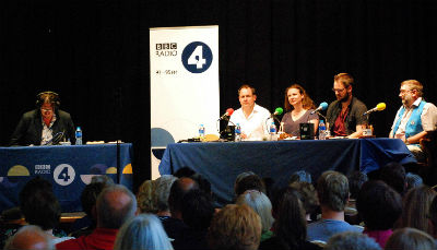 Recording with BBC Radio 4