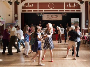 Dancing at the Bakewell Baking Festival