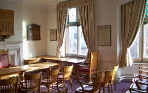 Our sunny Council Chamber
