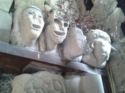 Gargoyles at Bakewell Parish Church