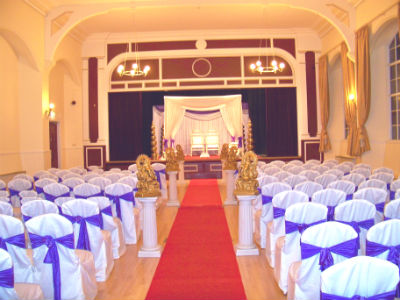 A fantastic room for large ceremonies