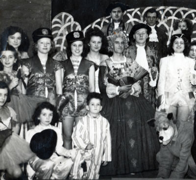 Our annual pantomime in 1947