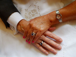 wedded hands o
