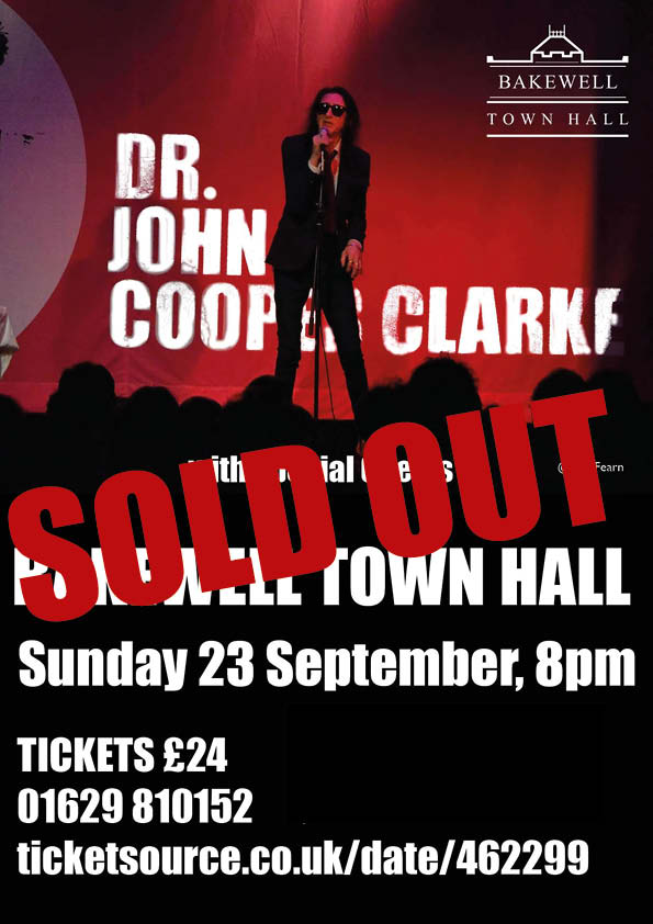 John Cooper Clarke: sold out!