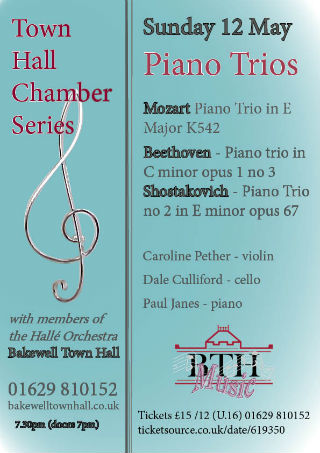Town Hall Chamber Series: Piano Trios