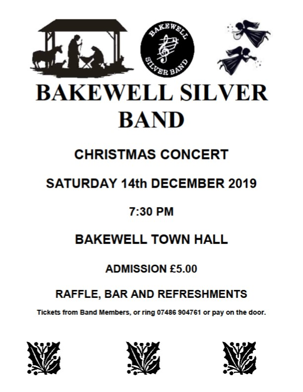 Bakewell Silver Band, 14 December