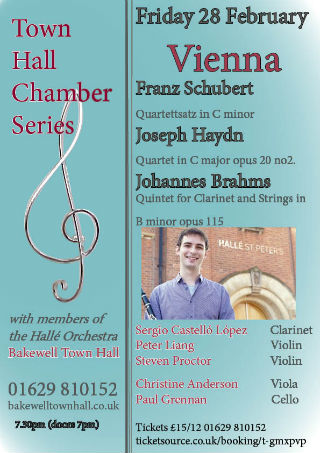 Town Hall Chamber Series: Vienna!