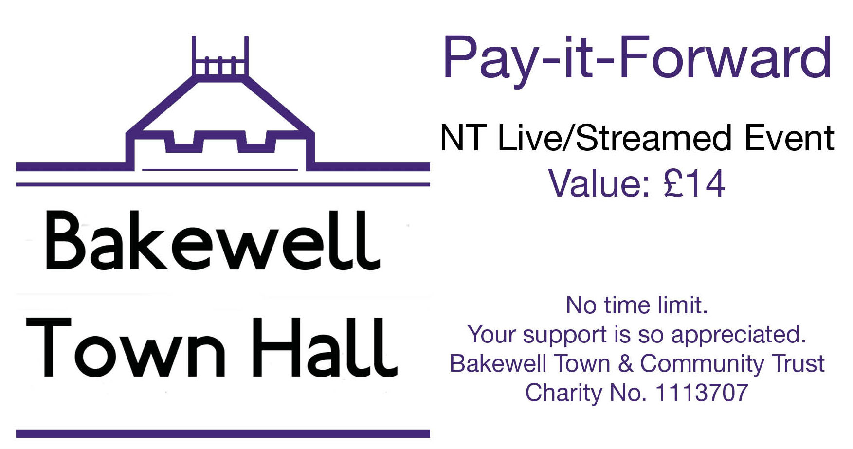 Pay-it-Forward NT Live Tickets